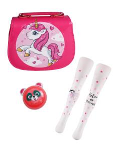 """Подарочный набор с колготками  и сумочкой для девочек """"Мечта принцессы"""""""