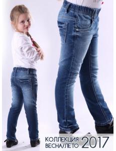 Джинсы для девочек с поясом-резинкой ligas